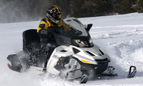 Ski-Doo Grand Touring with Air Suspension
