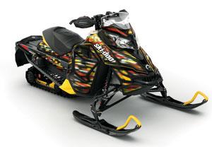 Ski-Doo MX Z LightFlash Snowmobile Wrap