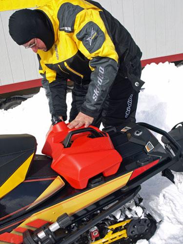 Ski-Doo Lin-Q System