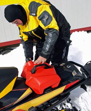 Ski-Doo LinQ Mounting System