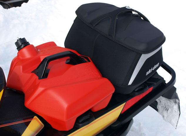 Ski-Doo LinQ Fuel Caddy and Bag