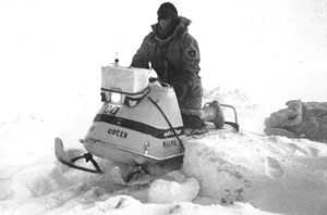 Ski-Doo Olympique reaches North Pole