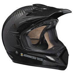 Made of carbon fiber composite, this Ski-Doo helmet offers lightweight technology for off-trail boondocking. (Image courtesy of Ski-Doo)