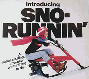 Chrysler Sno-Runner Advertisement