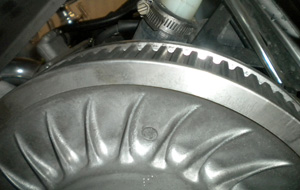 Snowmobile Drive Belt Stretched