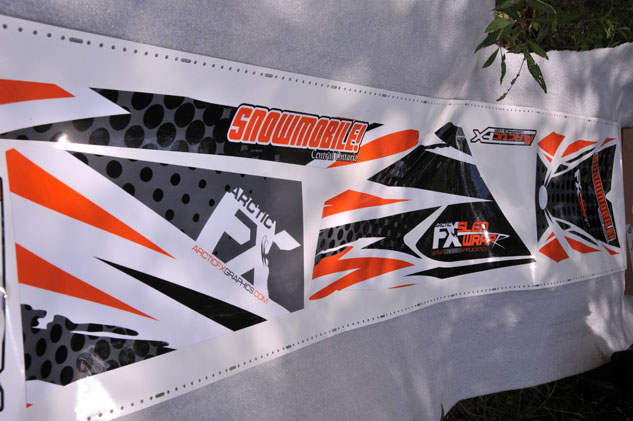 Snowmobile Graphics Roll
