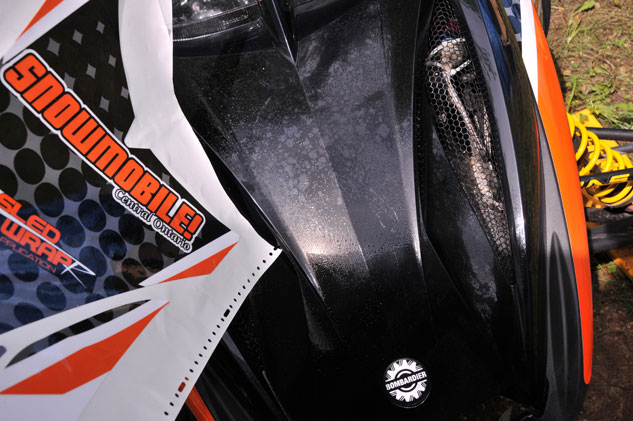 Snowmobile Graphics Smooth Surface