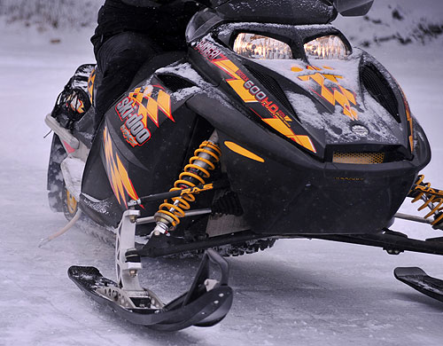 Snowmobile Ice Scratchers