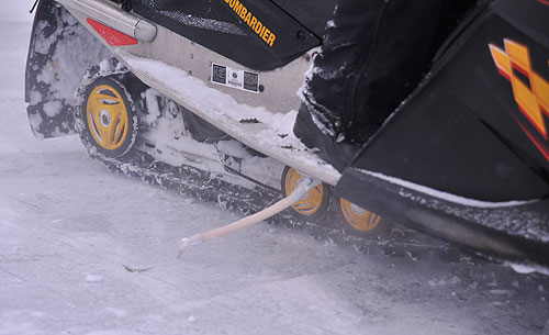 Product Test Ice Scratchers For Flatlanders Snowmobile Com