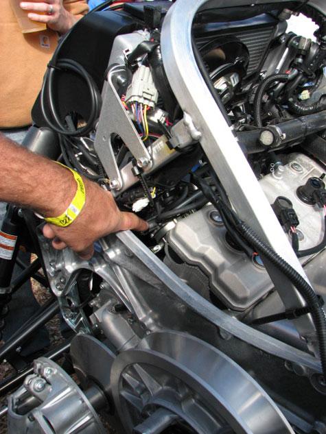 Yamaha Nytro Oil Change Kit