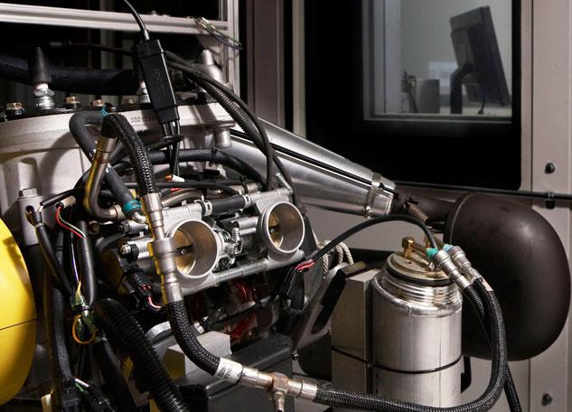 Snowmobile Oil Dyno Testing