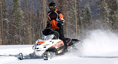 Bad News, Good News for Snowmobile Industry This Winter
