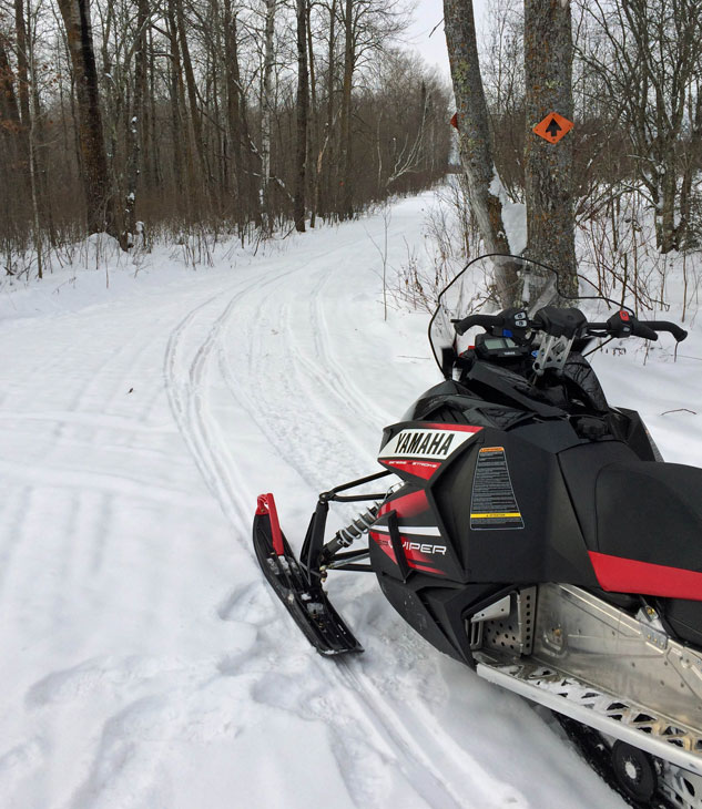 Snowmobile Trail Markers