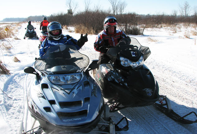 Kaye Johnson Memorial Vintage Snowmobile Ride
