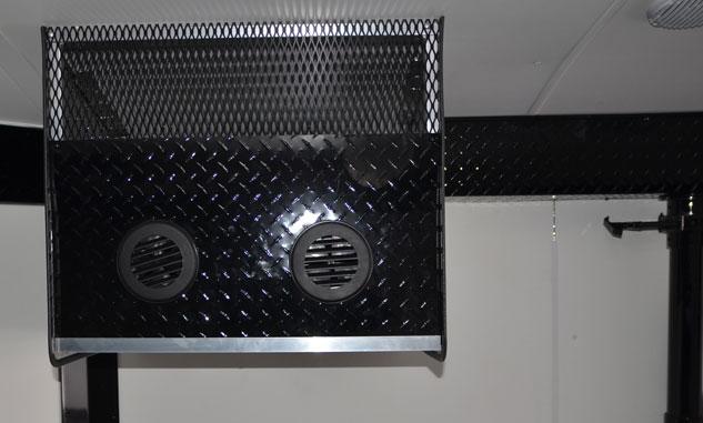 Helmet Dryer Stereo