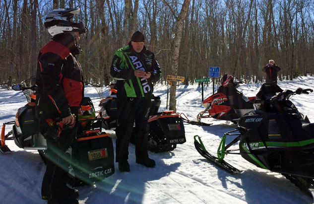 Snowmobile Volunteers Gathering