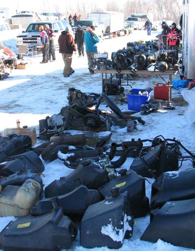 Snowmobile Swap Meet Items
