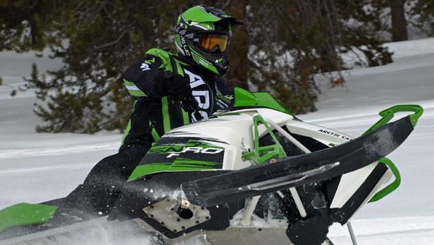 Team Arctic Cat Rider Snowmobile Goggle Tinted Lens