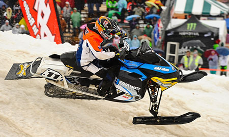 Tim Tremblay Amsoil Championship Snocross Series