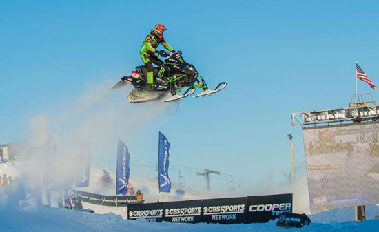 Tucker Hibbert Duluth National Snocross
