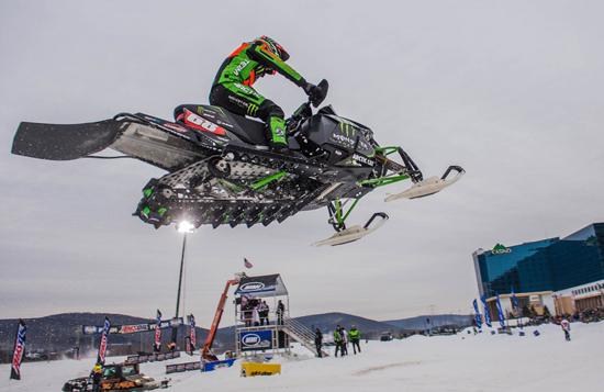 Tucker Hibbert Jump Seneca Snocross