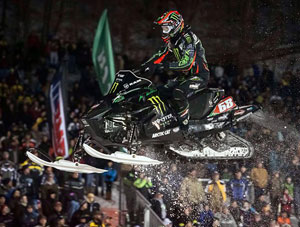 Tucker Hibbert Snocross Sweep