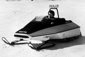 Manta Twin-Trackk Snowmobile