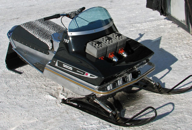 First Arctic Cat Snowmobile