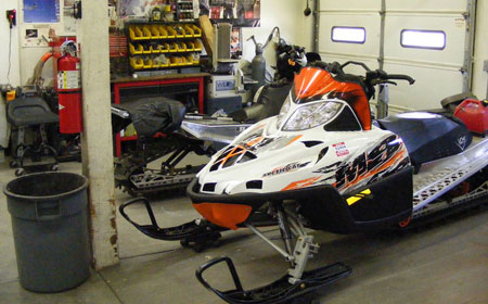 Snowmobilers looking for a 'special' one-of-a-kind sled come to Vohk Performance where satisfaction is guaranteed.