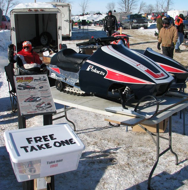 Polaris 120 Indy replica