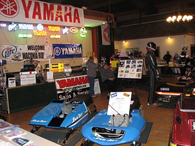 Waconia Ride-In Yamaha Display