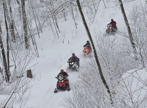 Wide Open Ontario Snowmobile Trails