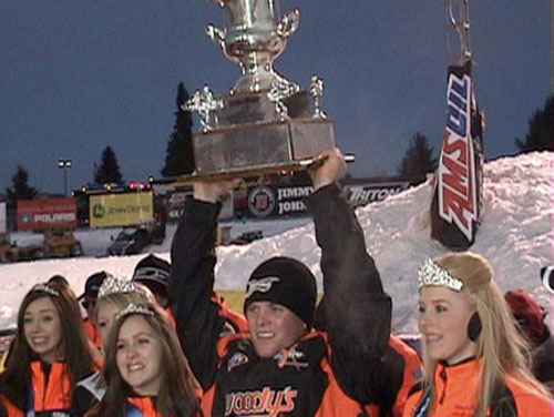 Malcolm Chartier Wins at Eagle River