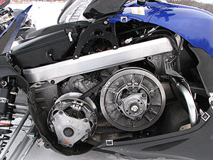 The new engine requires a revamped clutch package.