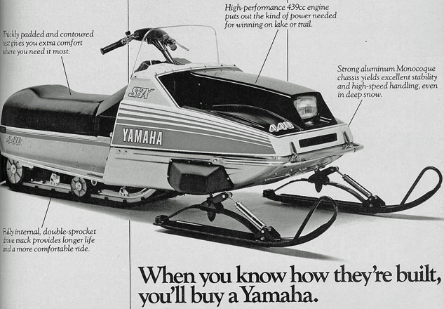 Yamaha SRX: Light, Fast and Collectible - Snowmobile com