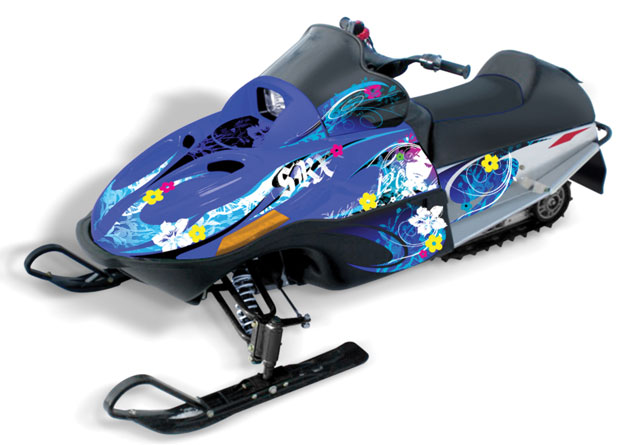 Yamaha SRX120 Mountain Flower Graphics Kit