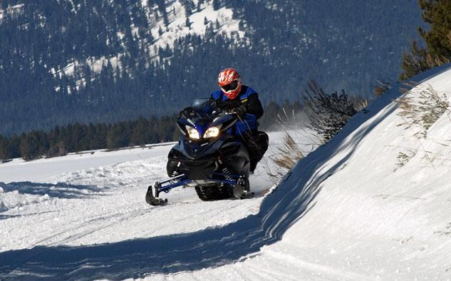Yamaha Vector Snowmobile Review