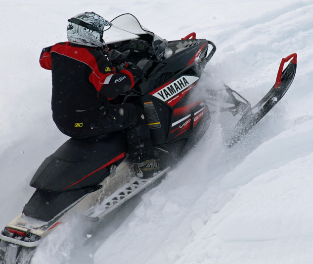 Yamaha Viper with Tuner Dual-Runner Skis