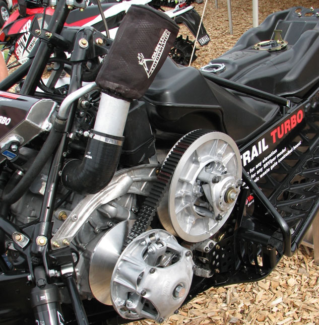 Yamaha Turbo Snowmobile