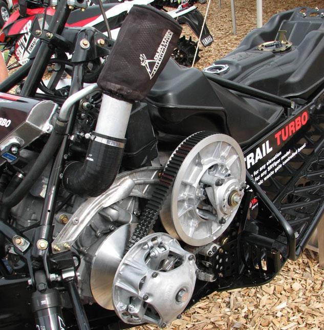 MPI Viper Turbo Kit Clutch Side