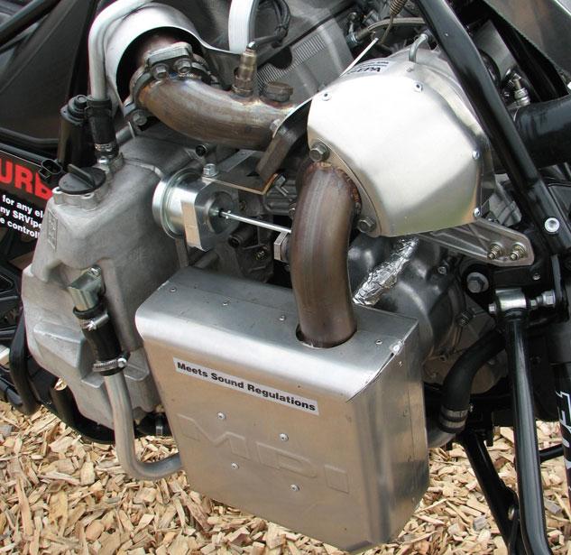 MPI Turbo Kit Exhaust Side