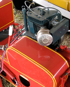 """In the early days, sled makers literally bought """"off the shelf"""" engines such as early 4-stroke Kohlers to power their designs."""