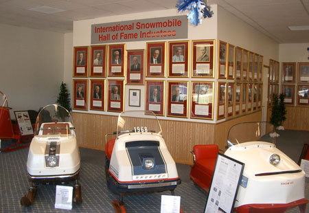Snowmobile history is preserved at places like the World Snowmobile Headquarters in Eagle River, WI.