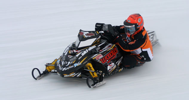 Malcolm Chartier Eagle River Snowmobile Derby