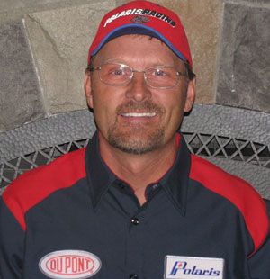 New Polaris Race Coordinator Daris Gould.