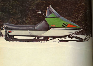 Side By Side Atv >> 1972 Coleman-Skiroule RT review