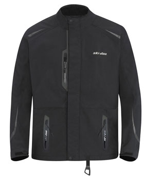 Ski-Doo�s Advanced Tec jacket features the latest in wind and water resistant materials and incorporates the RECCO avalanche rescue technology.