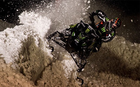 Tucker Hibbert kicks up some roost. (Image Courtesy John Hanson)