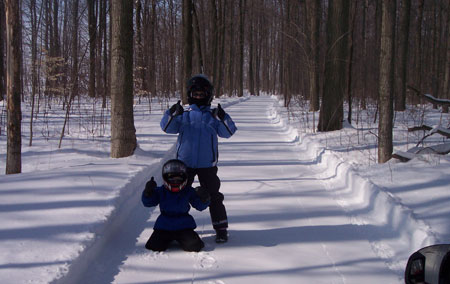 """You'll give the """"thumbs up"""" to Ontario's well-groomed network of trails."""