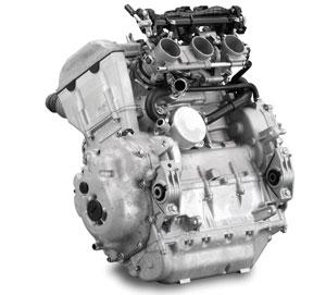 The 1049cc three-cylinder Genesis 130FI pulls strongly.